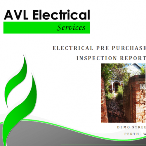 Pre Purchase Electrical Inspection Report Cropped